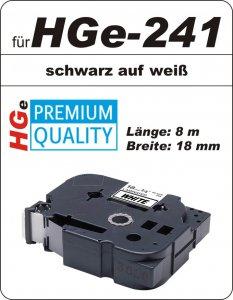 schwarz auf weiß - 100% HGe-241 (18 mm) komp.