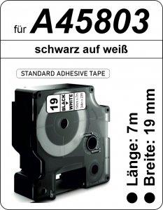 schwarz auf weiß - (19 mm)