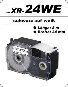 schwarz auf weiß - (24 mm)