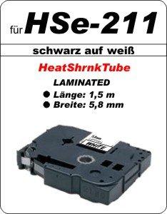 schwarz auf weiß - 100% HSe-211 (5,8 mm) komp.