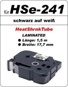 schwarz auf weiß - 100% HSe-241 (17,7 mm) komp.