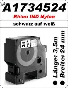 schwarz auf weiß - (24mm) 100% IND A1734524 komp.