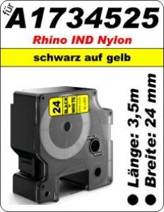 schwarz aufgelb - (24mm) 100% IND A1734525 komp.