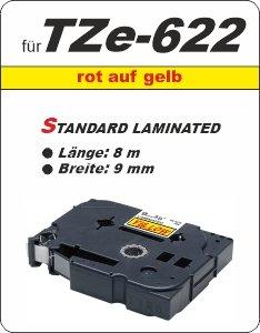 rot auf gelb - 100% TZe-622 (9 mm) komp.