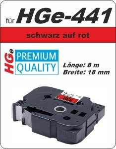 schwarz auf grün - 100% HGe-441 (18 mm) komp.