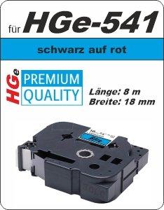 schwarz auf blau - 100% HGe-451 (18 mm) komp.