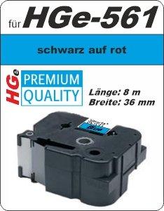 schwarz auf blau - 100% HGe-561 (36 mm) komp.