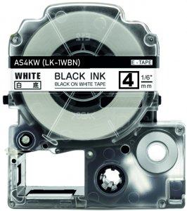 schwarz auf weiß - 100% LK-1WBN (4 mm) komp.