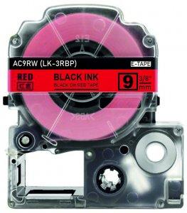 schwarz auf rot - 100% LK-3RBP (9 mm) komp.