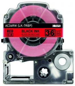 schwarz auf rot - 100% LK-7RBP (36 mm) komp.