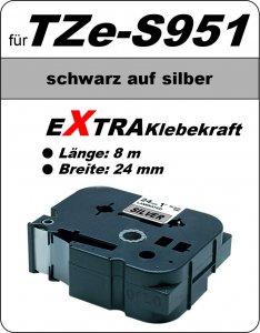 schwarz auf grün - 100% TZe-S951 (24 mm) komp.