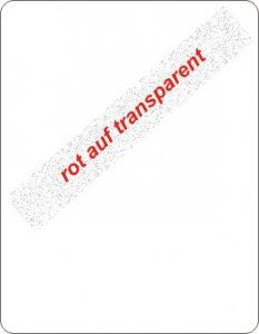 rot auf transparent