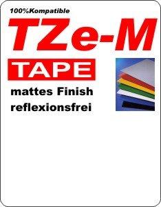 TZe-M (matt / reflektionsfrei)