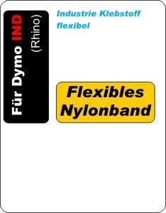 flexible Nylon-Etiketten