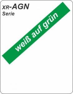 weiß auf grün