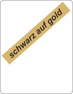 schwarz auf gold