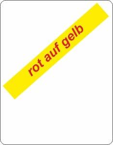 rot auf gelb