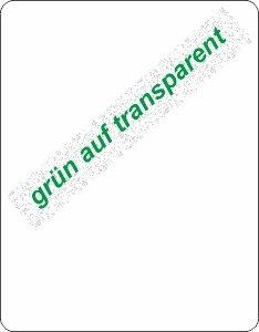 grün auf transparent