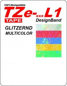 TZe - L1 multicolor-Bänder